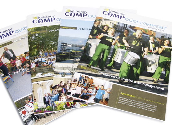 Magazines municipaux de Sathonay-Camp